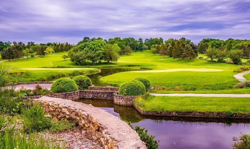 DIY Backyard Mini Golf Course